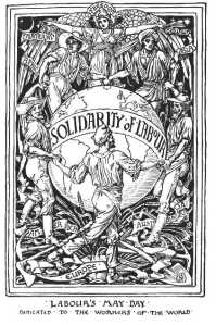 Walter Cranes' International Solidarity of Labour 1889
