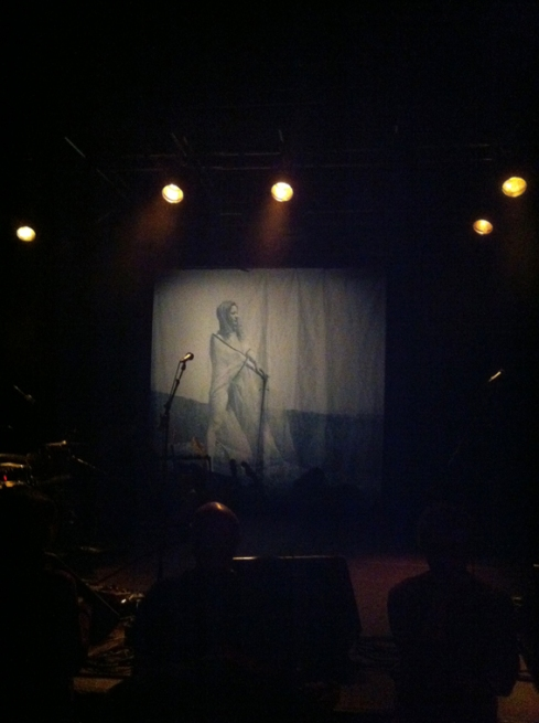 UMO Backdrop and Cover of their latest Album; II